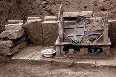 Arkeolog Temukan Sisa Kremasi Buddha di Desa China