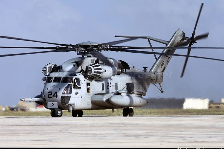 Helikopter transportasi CH-53