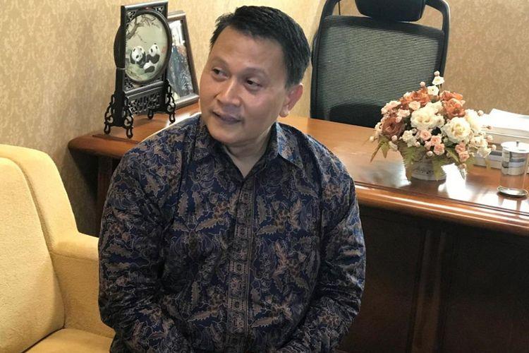 Ketua DPP Partai Keadilan Sejahtera (PKS) Mardani Ali Sera saat ditemui di ruangannya, di Kompleks Parlemen, Senayan, Jakarta, Rabu (25/7/2018).