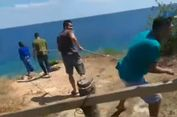 Polisi Gagalkan Upaya Bunuh Diri Wanita Hamil yang Coba Lompat dari Atas Tebing