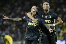 Hasil Frosinone Vs Juventus, Ronaldo-Bernardeschi Bikin Juve Kokoh