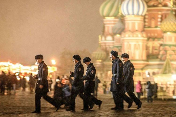 Lapangan Merah, Moskwa.