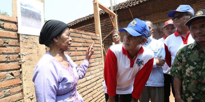 Program Rehab Gubernur Jateng Buat Nenek Banget Bahagia