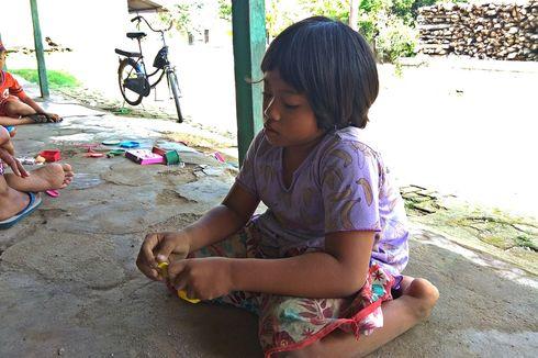 Harapan Terwujud, Bocah Dinda yang Lumpuh Layu sejak Kecil Bisa Sekolah