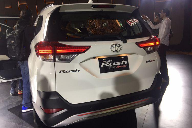 Toyota Rush Generasi Terbaru tanpa konde