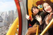 Mencoba Bianglala Raksasa di Don Quijote Dotonbori, Osaka