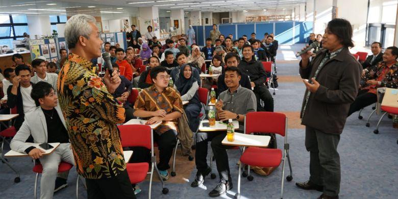 Buka Usaha di Tanah Air, Pesan Ganjar ke Pemagang Indonesia di Jepang
