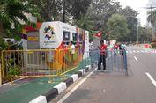 Sabtu Siang, Loket Penukaran Tiket Opening Asian Games Sepi