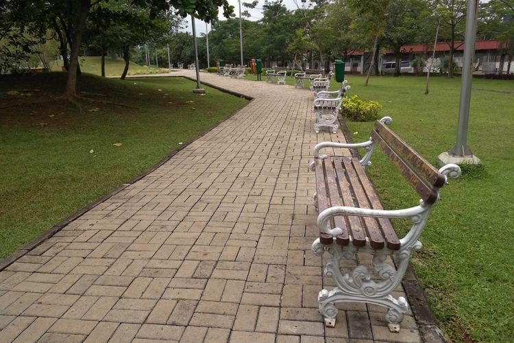Taman Ria Rio di Pulomas, Jakarta Timur, Jumat (9/3/2018)