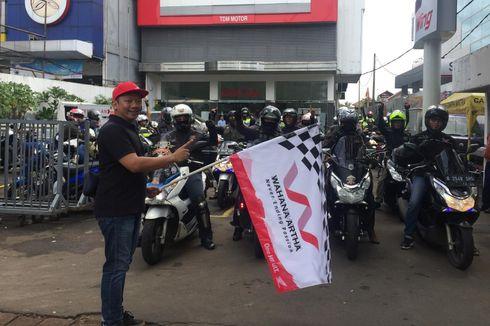 Biker Geber Honda PCX Jakarta-Puncak Bogor