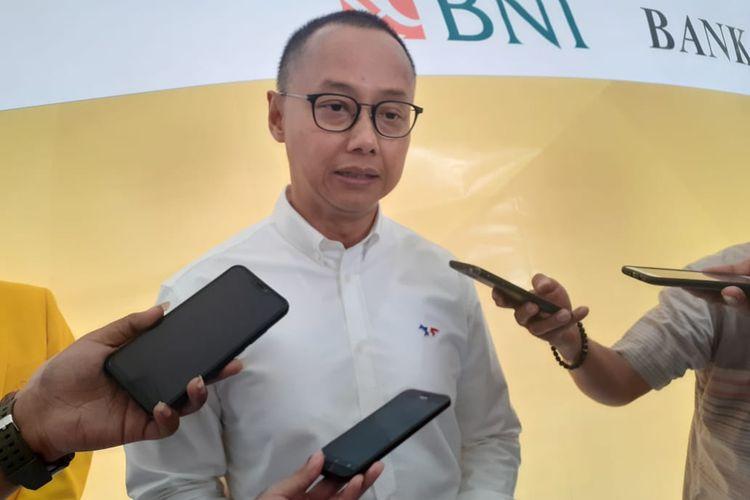 Sekretaris Jenderal Partai Amanat Nasional (PAN), Eddy Soeparno saat ditemui di Fakultas Hukum UI, Depok, Jawa Barat, Senin (24/6/2019).