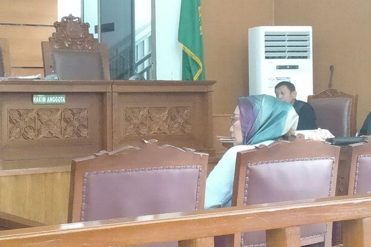Ratna Sarumpaet Diperiksa Sebagai Terdakwa Dalam Kasus Penyebaran Berita Bohong di Pengadilan Negeri Jakarta Selatan, Selasa (14/5/2019)