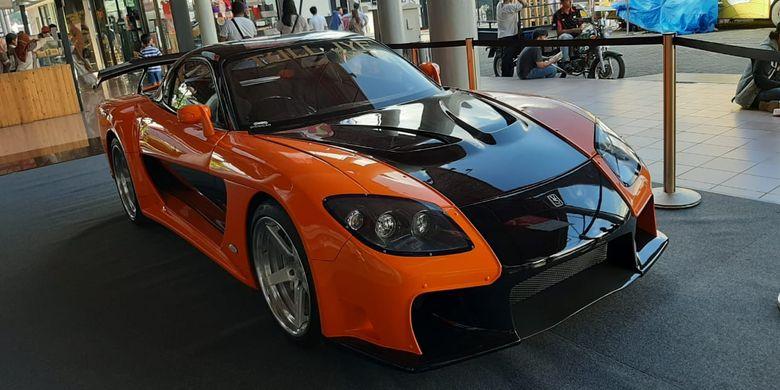 Mazda RX-7 replika Tokyo Drift jadi pusat perhatian di Telkomsel IIMS 2019