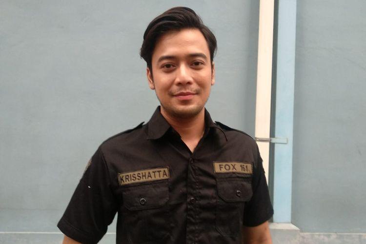 Kriss Hatta ditemui di kawasan Mampang, Jakarta Selatan, Selasa (9/7/2019).
