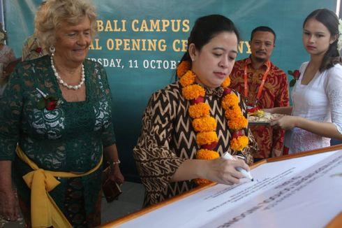 Menko PMK Puan Resmikan Kampus AIS Bali