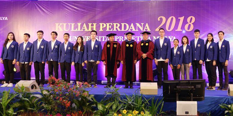 Universitas Prasetiya Mulya melalui program School of Applied STEM menghadirkan acara Inaugural Lecture 2018 (27/8/2018)