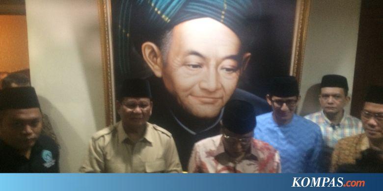 Bertemu Pimpinan PBNU, Prabowo Subianto-Sandiaga Uno Bahas Ekonomi