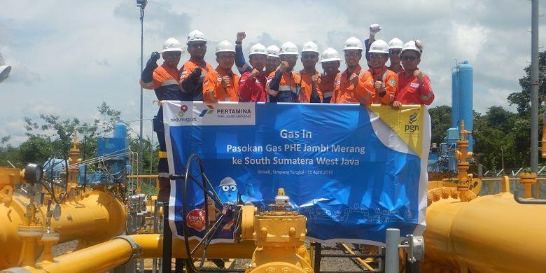 Kerja Sama dengan PHE Jambi Merang, PGN Dapat Tambahan Pasokan Gas