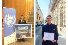 Cerita Muflih Dwi Fikri, Mahasiswa UNS yang Raih Penghargaan Kompetisi MUN di Paris
