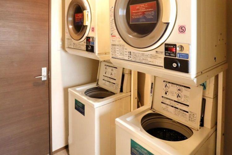 Mesin laundry koin