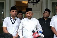 Hadapi Debat Perdana, Ma'ruf Amin Mengaku Tak Tegang