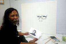 Doa Seni dan Kolaborasi 3 Pelukis dalam 1 Kanvas untuk GM Sudarta