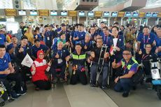 Tangis Haru Warnai Kepulangan Peserta Asian Para Games 2018