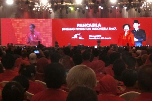 Jokowi: Selamat Ulang Tahun Partainya Wong Cilik