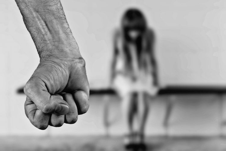 ilustrasi kekerasan terhadap perempuan