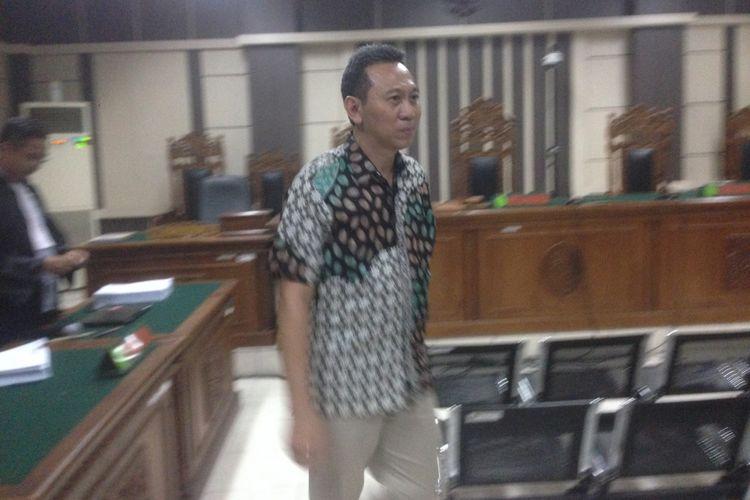 Bupati Kebumen non aktif M Yahya Fuad diadili di Pengadilan Tindak Pidana Korupsi Semarang, Jawa Tengah, Rabu (3/10/2018).