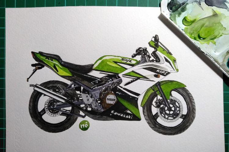 Kawasaki Ninja 150 RR 30th Anniversary Edition
