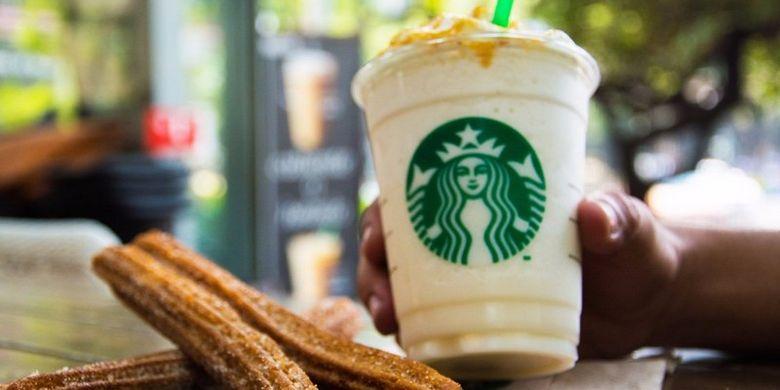 Churro Frapucchino, varian minuman Starbucks di Amerika Latin.