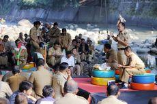 Bahas Isu Lingkungan dan Kesehatan, Pemkot Bogor Rapat di Kolong Jembatan