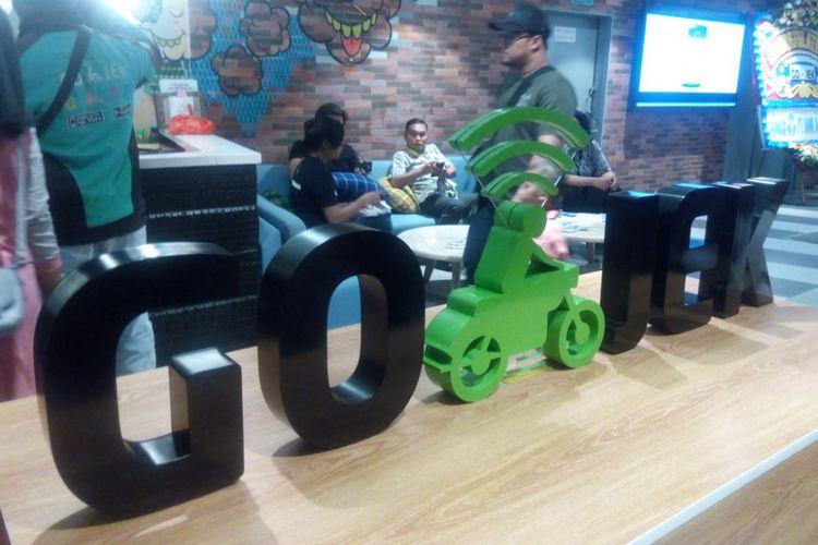 Suasana ruangan di Kantor Go-Jek, Jakarta Selatan, Jumat (26/10/2018).