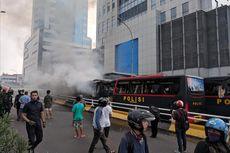Polisi Tangkap 4 Perusak Mobil Brimob Saat Kerusuhan 22 Mei di Flyover Slipi