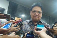 Ditanya Jatah Menteri Untuk Partai Golkar, Airlangga Minta Jumlah yang Wajar
