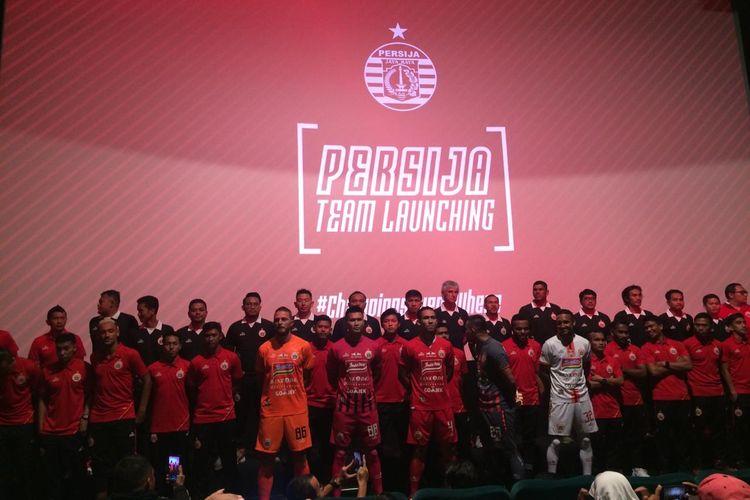 Acara launching tim Persija Jakarta untuk Liga 1 musim 2019 berlangsung di XXI Epicentrum, Kuningan, Jakarta Selatan.