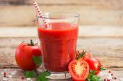 Segelas Jus Tomat Sehari Bantu Turunkan Tekanan Darah