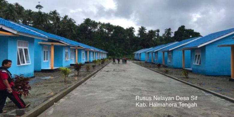 Rasus Nelayan Desa Sif di Kabupaten Halmahera Tengah