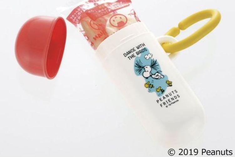 Produk ini dapat melindungi kerupuk bayi yang rapuh.