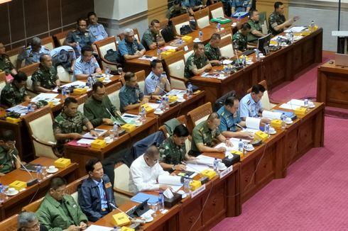 DPR, Kemhan, dan TNI Bahas Isu Terorisme hingga OPM Saat Rapat Kerja