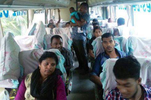Imigrasi Lhokseumawe Deportasi 3 Warga Srilanka
