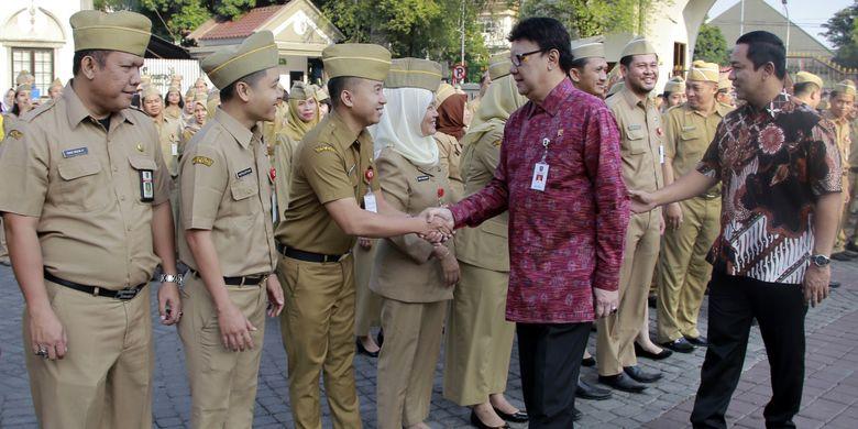 Mendagri Ingin Kota Semarang Tingkatkan Pencegahan Korupsi