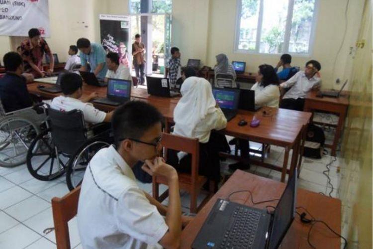 International Test Center (ITC) bekerjasama dengan Yayasan Pembina Anak Cacat (YPAC) membantu dalam memberikan IC3, sertifikasi literasi digital yang diakui secara internasional.