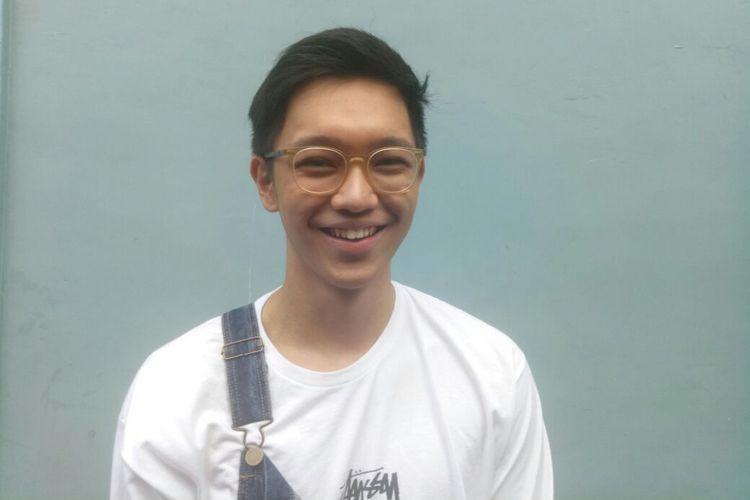 Brandon Salim ditemui di kawasan Tendean, Jakarta Selatan, Rabu (10/1/2018).