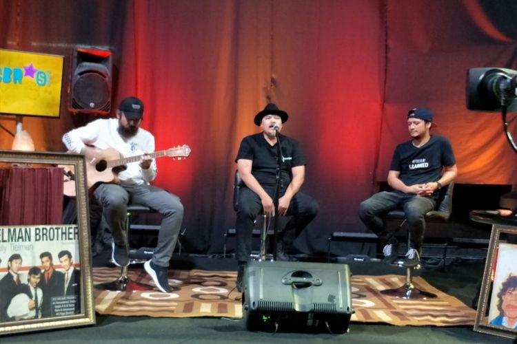 NTRL tampil dalam program musik Selebrasi yang ditayangkan secara live streaming di Facebook Kompas.com dan YouTube KompasTV saluran Inspirasi Musik pada Selasa (10/7/2018) siang.