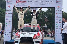 Meski Rem Blong, Rizal Sungkar Finis Ke-3 Kejurnas Rally di Deli Serdang