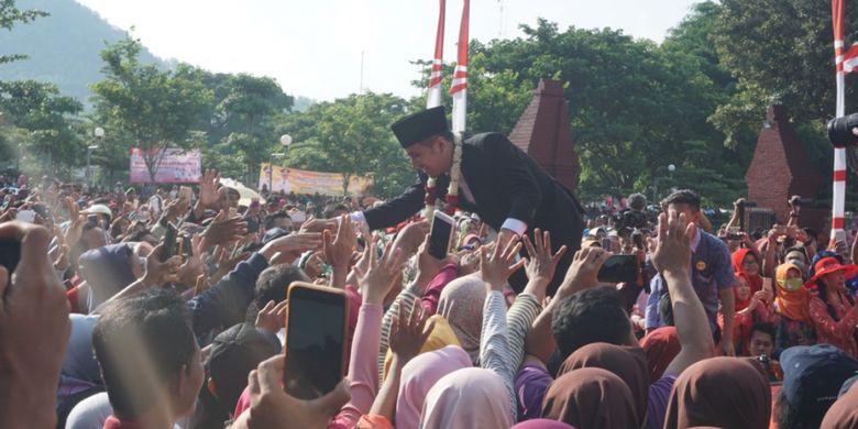 Resmi Jabat Wagub Jatim, Emil Dardak akan Bawa Trenggalek Terdepan di Selatan Jawa