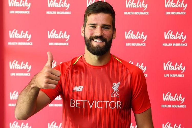 Alasan Alisson Becker Bergabung bersama Liverpool
