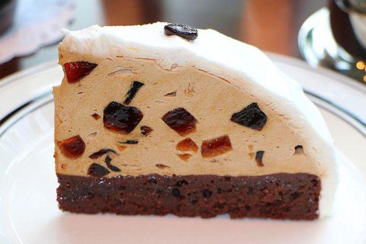 Rasa kue dan agar-agar berpadu dengan harmonis